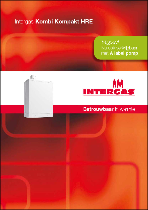 Brochure Intergas HRE-A cv-ketels